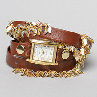 The Multi Leaf Gold Chain Wrap Watch : La Mer : Karmaloop.com - Global Concrete Culture