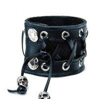 Leather Corset Bracelet | Dolls Kill