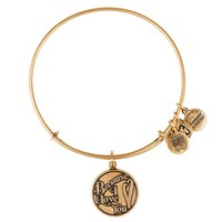 Alex and Ani Because I Love You Charm Bangle - Russian Gold