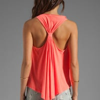 Bobi Lightweight Jersey Swing Tank in Neon Coral from REVOLVEclothing.com