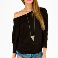 Layla Off Shoulder Sweater $25