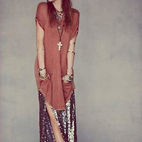 Free People Mermaid Sequin Skirt