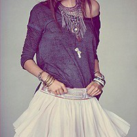 Raga  Embellished Mini Skirt at Free People Clothing Boutique