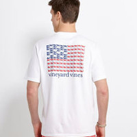 Men's T-Shirts: Whales & Stripes Graphic T-Shirt – Vineyard Vines