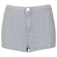 MOTO Ticking Stripe Hotpants - New In This Week  - New In