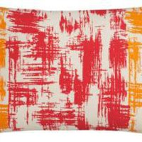 "CB2 - stardust orange 18""x12"" pillow"