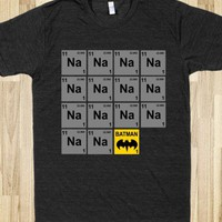 Periodic Table of Batman! - Fandom and Games - Skreened T-shirts, Organic Shirts, Hoodies, Kids Tees, Baby One-Pieces and Tote Bags