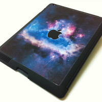 Ipad Case - Nebula Galaxy iPad smart case for iPad 2 / iPad 4 - iPad Retina Cover / New iPad Case / Magnetic Smart Case / Flip Case
