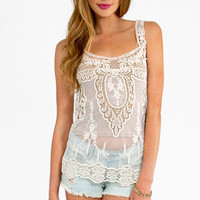 Scoop Over Tank Top $29