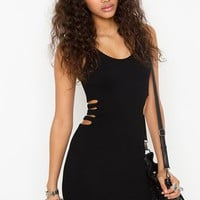 Pucker Up Caged Dress in Clothes Dresses at Nasty Gal