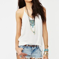 Ashland Racerback Tank - Ivory in What's New at Nasty Gal