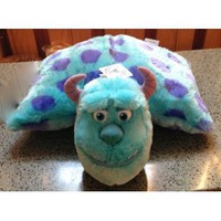 Disney Park Sulley from Monsters Inc Pillow Pal Plush Pet Doll