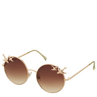 Swallow Trim Round Sunglasses - Sunglasses - Bags & Accessories - Topshop USA
