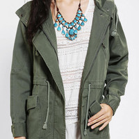 Urban Outfitters - Margot Hooded Oversized Parka