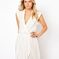 Love Dress with Wrap Front at asos.com