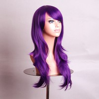 "Cosplay Inshop 28 "" Long Big Wavy Hair Heat Resistant Cosplay Wig"