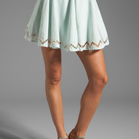 Lucca Couture Skirt in Light Blue from REVOLVEclothing.com