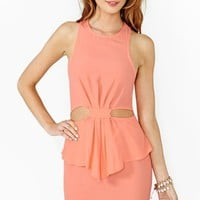 Hot Spell Peplum Dress
