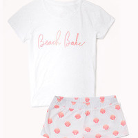 Beach Babe PJ Set | FOREVER 21 - 2047193552