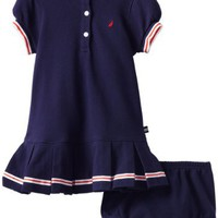 Nautica Baby-girls Infant Pique Polo Dress