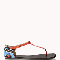Southwestern Thong Sandals