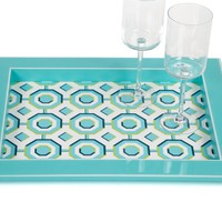 Perspective Tray - Aquamarine | Outdoor | Z Gallerie