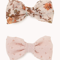 Bow Hair Clips | FOREVER21 - 1057476858