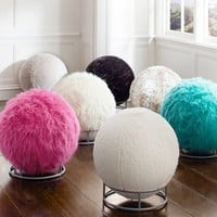 Rockin' Roller Fluffy Sphere Chair...Follow me for more:)