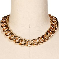 Gold XL Chain Necklace