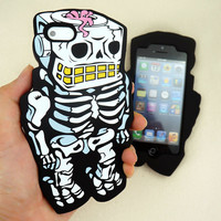 Amazing 3D Looks Mr. and Mrs. Robot/ Skeleton/ Case  for iPhone 5