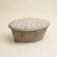 Ottoman tub with storage  ?? Seating ?? Recreate