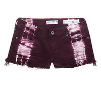 Bullhead Side Tie dye Fray Hem Shorts at PacSun.com