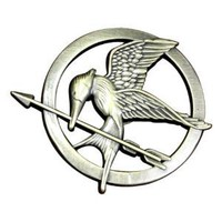 The Hunger Games Prop Rep Pin