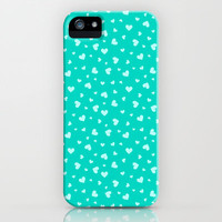 Hearts Pattern #1 iPhone & iPod Case by Ornaart