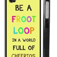 Froot Loops and Cheerios iPhone 4 Case - Trendy Cute iPhone 4s Case