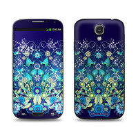 Samsung Galaxy S4 Skin - Blue Garden by Catalina Estrada