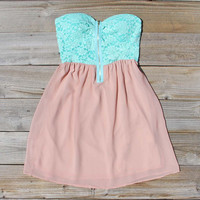August Glow Dress in Mint, Sweet Women's Summer & Party Dresses