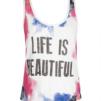 Life Is Beautiful Tank