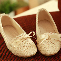 New Fashion Hollow Out With Lace Sandals
