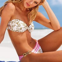 Fashion Gather Bronzing Camisette Bikini
