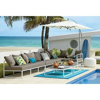 casbah outdoor sectional pieces