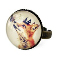 Handmade Gifts | Independent Design | Vintage Goods Little Fox Prince Ring - Rings - Jewelry - Girls