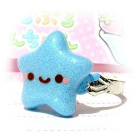 Handmade Gifts | Independent Design | Vintage Goods Kawaii Shining Star Ring - Rings - Jewelry - Girls