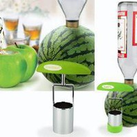 Crafty Core Carver: Cut Any Fruit into an Organic Shot Glass  Dornob
