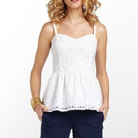 Gardenia Top - Lilly Pulitzer