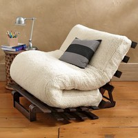 Sherpa Fleece Futon