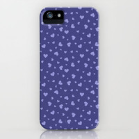 Hearts Pattern #8 iPhone & iPod Case by Ornaart