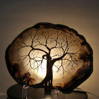 Wire Tree Of Life Spirit sculpture natural LARGE by CrowsFeathers