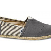 University Ash Rope Sole Classics | TOMS.com
