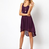 Lovestruck Dress With Dipped Hem at asos.com